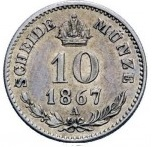 10 Kreuzer - Franz Joseph I – reverse