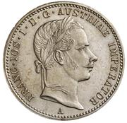 ¼ Florin - Franz Joseph I – obverse