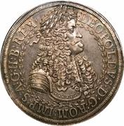 2 Thaler - Leopold I (Hall) -  obverse