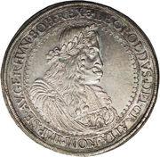 2 Thaler - Leopold I (Graz) -  obverse