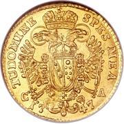 1 Ducat - Franz I (Vienna) -  reverse