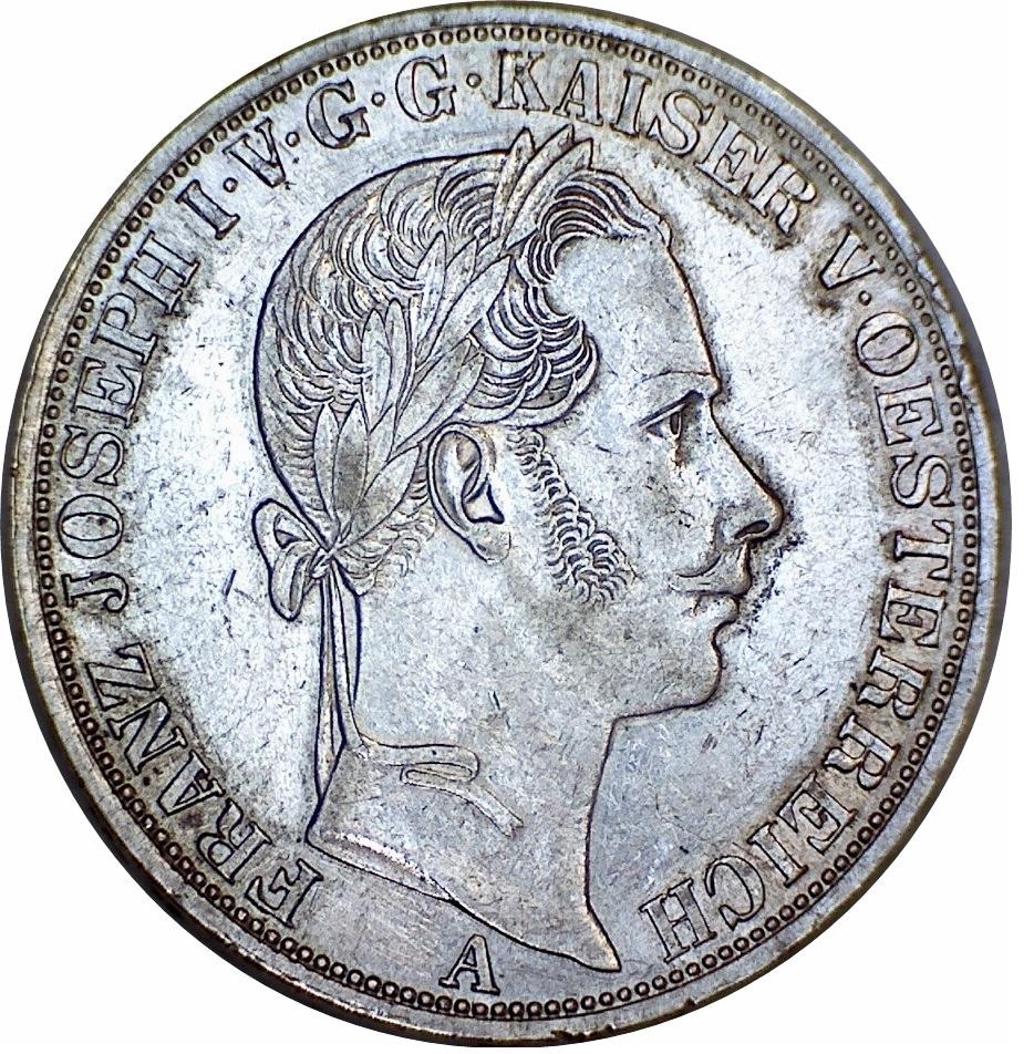 1 Vereinsthaler Franz Joseph I Austria Habsburg Numista