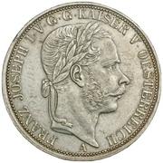 1 Vereinsthaler - Franz Joseph I – obverse