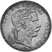 2 Florin - Franz Joseph I -  obverse