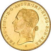 1 Ducat - Franz Joseph I (Golden Jubilee) -  obverse