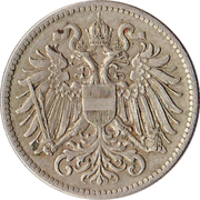 10 Heller - Karl I -  obverse