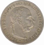 1 Corona - Franz Joseph I -  obverse