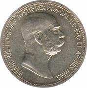1 Corona - Franz Joseph I (Reign) -  obverse