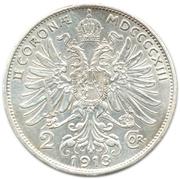 2 Corona - Franz Joseph I -  reverse