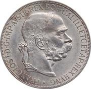 5 Corona - Franz Joseph I -  obverse
