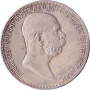 5 Corona - Franz Joseph I (Reign) -  obverse