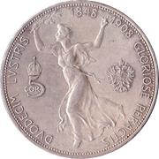 5 Corona - Franz Joseph I (Reign) -  reverse