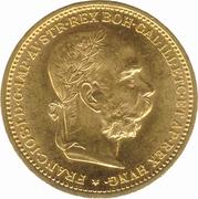 20 Corona - Franz Joseph I -  obverse
