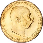 100 Corona - Franz Joseph I -  obverse