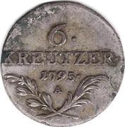 6 Kreutzer - Franz II -  reverse