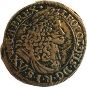 15 Kreuzer - Leopold I (Mainz) -  obverse