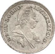 3 Kreuzer - Maria Theresia -  obverse