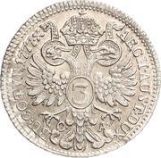 3 Kreuzer - Maria Theresia -  reverse