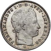 3 Kreuzer - Ferdinand I -  obverse
