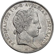 ½ Thaler - Ferdinand I -  obverse