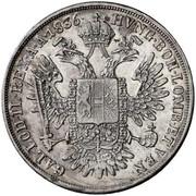 ½ Thaler - Ferdinand I -  reverse