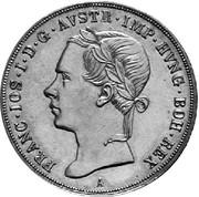 ½ Thaler - Franz Joseph I -  obverse