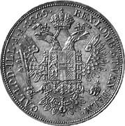 ½ Thaler - Franz Joseph I -  reverse