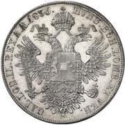 1 Thaler - Ferdinand I -  reverse