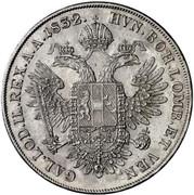 1 Thaler - Franz I -  reverse