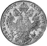 1 Thaler - Leopold II (Vienna) -  reverse