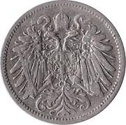 20 Heller - Franz Joseph I -  obverse