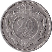 20 Heller - Franz Joseph I -  reverse