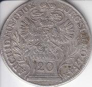20 Kreuzer - Maria Theresia (Prague) -  reverse
