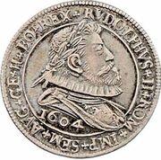 6 Kreuzer - Rudolf II (Hall) -  obverse