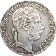 1 Florin - Franz Joseph I – obverse