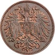 2 Heller - Franz Joseph I -  obverse