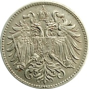 10 Heller - Franz Joseph I (shield with lion and stars) -  obverse