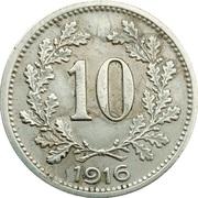 10 Heller - Karl I -  reverse