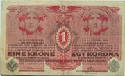 1 Krone – obverse