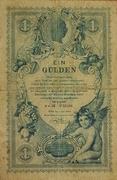 1 Gulden - Franz Joseph I – obverse
