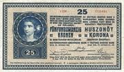 25 Kronen – obverse