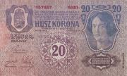 20 Kronen (2nd edition) -  reverse