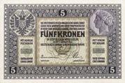 5 Kronen – obverse