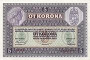 5 Kronen – reverse