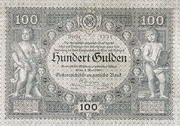 100 Gulden -  obverse