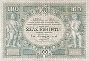 100 Gulden -  reverse