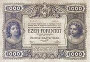 1000 Gulden -  reverse