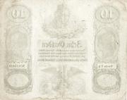 10 Gulden -  reverse