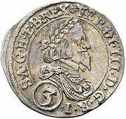 3 Kreuzer - Ferdinand III (Graz) -  obverse