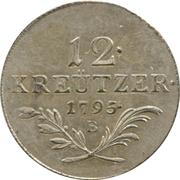 12 Kreutzer - Franz II -  reverse